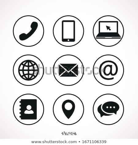 электронная · почта · изолированный · белый · бизнеса · интернет - Сток-фото © tashatuvango