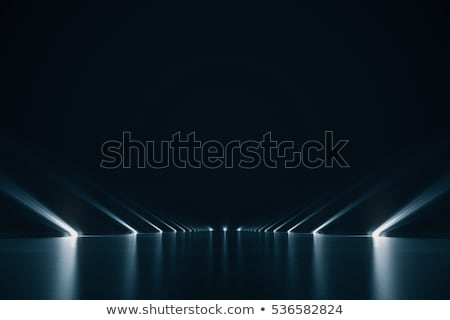 抽象的な 光 行 黒 テクスチャ 市 ストックフォト © jeremywhat
