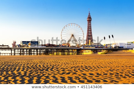 Blackpool Beach Stock photo © photohome