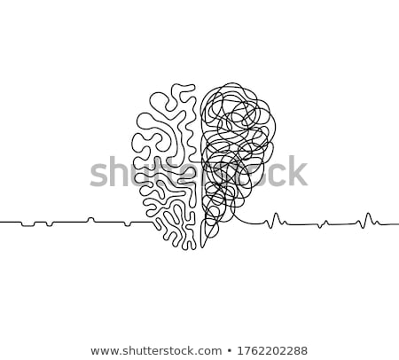 chaos heart, vector Stock photo © beaubelle