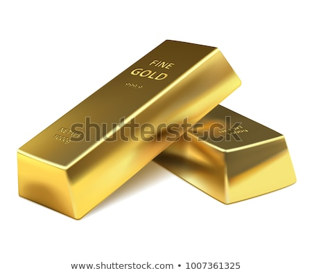 gold bar isolated on a white background Stock photo © shutswis
