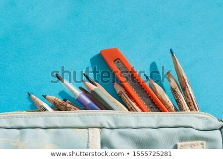 tollak · ceruzák · ceruza · fém · háló · üzlet - stock fotó © shutswis