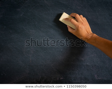 Erasing the Chalkboard Stock photo © winterling