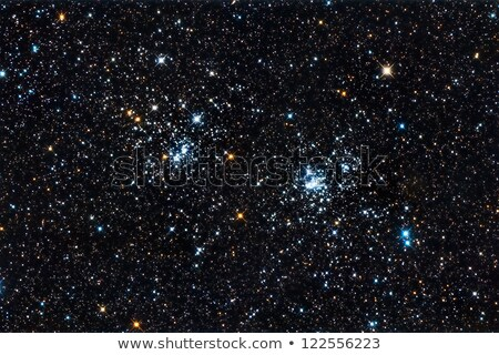 NGC 869 and NGC 884 Double Open Cluster in Perseus Stock photo © rwittich