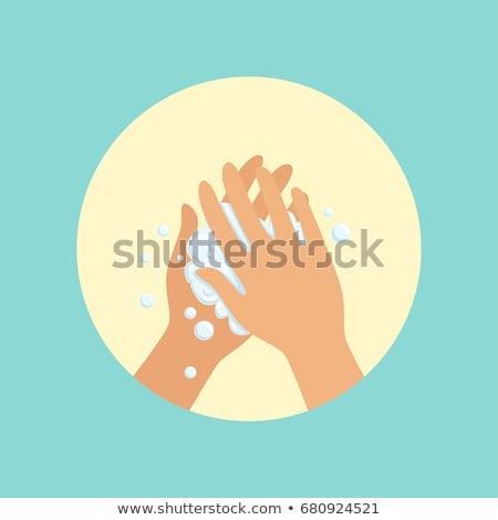 Hand Washing Circle Stock photo © cteconsulting