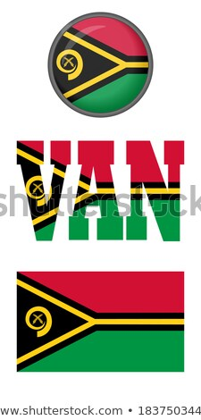 Botão Vanuatu mapa oceano bandeira euro Foto stock © Ustofre9