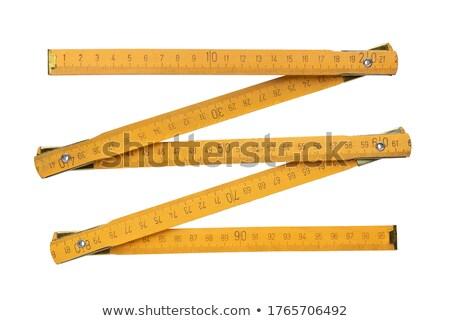 Zigzag rule. Stock photo © Leonardi