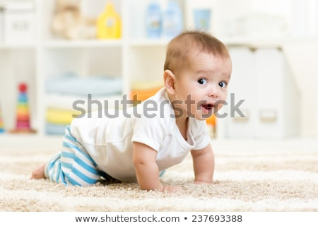 baby crawling stock photo © nikkos