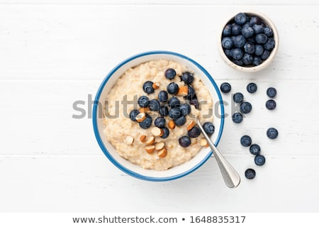 Cevada tigela colorido sopa branco comida Foto stock © joker