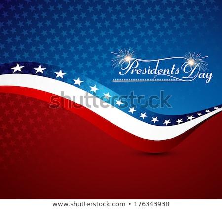 Belo presidente dia Estados Unidos américa elegante Foto stock © bharat