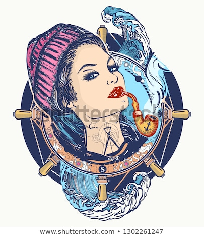 woman in sailor costume Stock photo © w20er