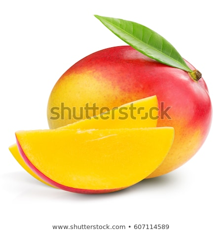 манго фрукты изолированный белый лист фон Сток-фото © natika