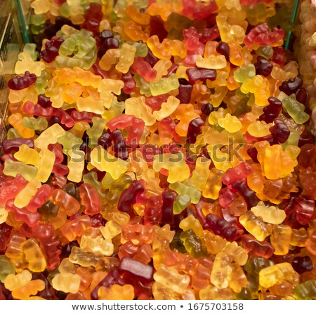 chewy candy background in the bazaar Stock photo © RuslanOmega