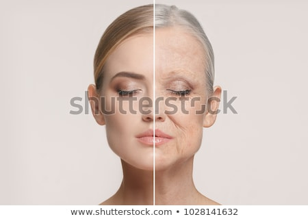 beautiful woman aging process portrait Stock photo © stevanovicigor