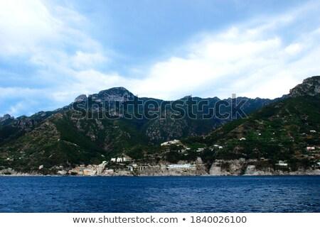 Unreal rocky coastline Stock photo © smithore