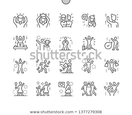 eenvoudige · mensen · adem · algemeen - stockfoto © nazlisart