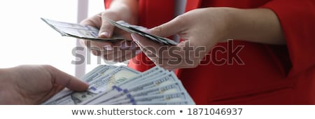 legal and illegal turnover of money Stock photo © OleksandrO