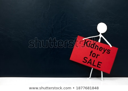 internal organs for sale on market stock photo © hofmeester