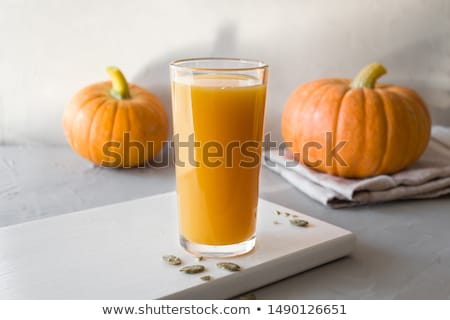 Pumpkin juice Stock photo © yelenayemchuk