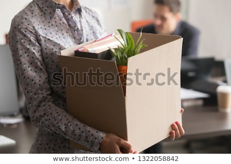 Office Downsizing Concept Stock photo © Lightsource