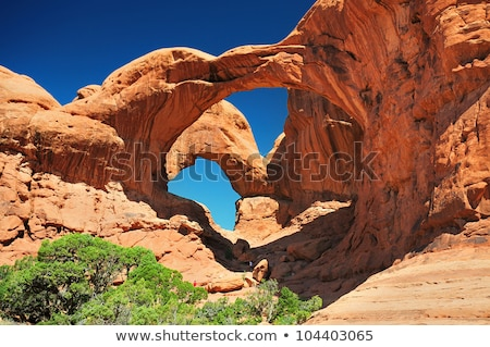 バランスのとれた 岩 公園 ユタ州 米国 風景 ストックフォト © phbcz