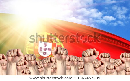 Portugal Labour movement, workers union strike Stock photo © stevanovicigor