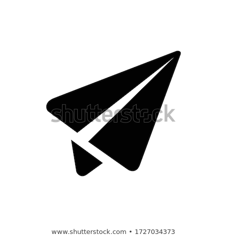 Stock photo: send message from airport