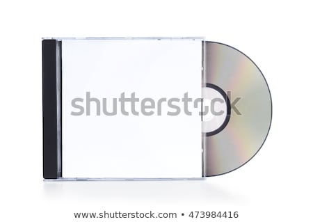 Pile of jewel cases for CD or DVD Stock photo © alexmillos
