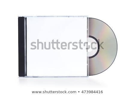 cd · isolado · branco · computador · música · tecnologia - foto stock © alexmillos