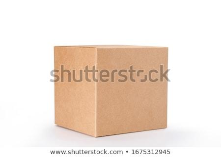 カートン コンテナ ショッピング ポスト パッケージ ストックフォト © ozaiachin