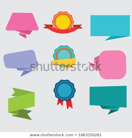 Best Quality Red Sticky Notes Vector Icon Design Stock photo © rizwanali3d
