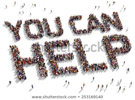 We can help you Stock photo © fuzzbones0