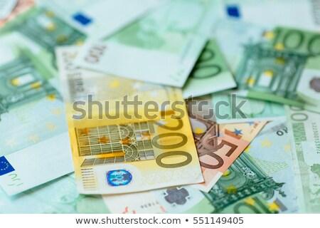 euro · valuta · segno · uomo · 3d · spingendo · isolato - foto d'archivio © lightsource