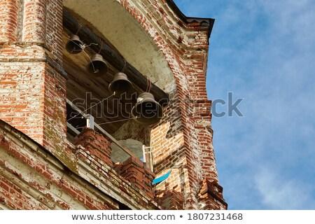 Old brass village bells Stock photo © jordanrusev