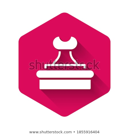 Certified Pink Vector Button Icon Stock photo © rizwanali3d