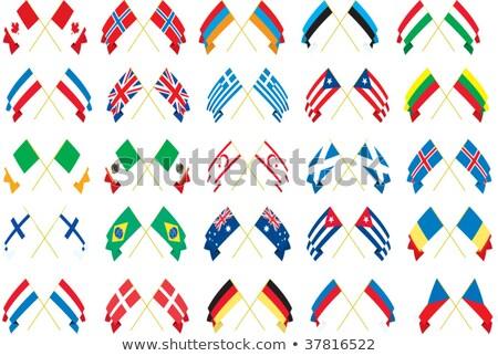 Puerto · Rico · bandera · banderas - foto stock © istanbul2009