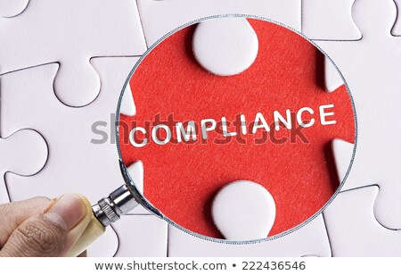 Compliance - Jigsaw Puzzle with Missing Pieces. Stock photo © tashatuvango