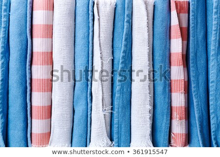 Assorted Clean Rolled School Rugs for Background Stock photo © ozgur