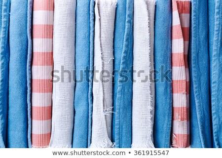 masa · örtüsü · renkli · doku - stok fotoğraf © ozgur