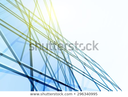 Abstract steel boxes stock photo © MONARX3D