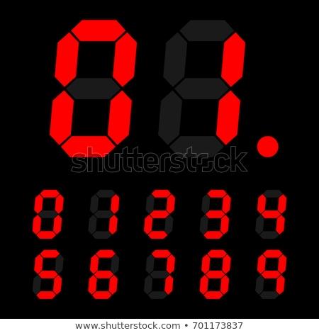 timer · klok · 10 · 15 · 30 · 60 - stockfoto © evgeny89