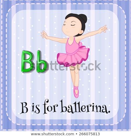 子供 · バレエ · 実例 · 子供 · 少女 - ストックフォト © bluering