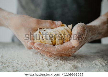 italian pasta bake Stock photo © vertmedia