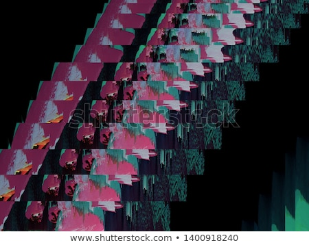 abstract glitch malfunction of image Stock photo © SArts