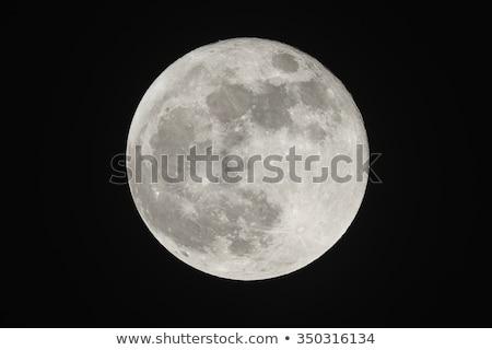 Dolunay Yıldız ay doku kamu Stok fotoğraf © Noedelhap