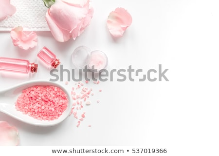 Soap in petals of flowers Stock photo © All32