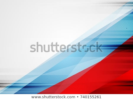 Contrast grey and blue abstract geometric background Stock photo © saicle