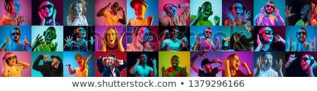 Stock fotó: Feel The Music