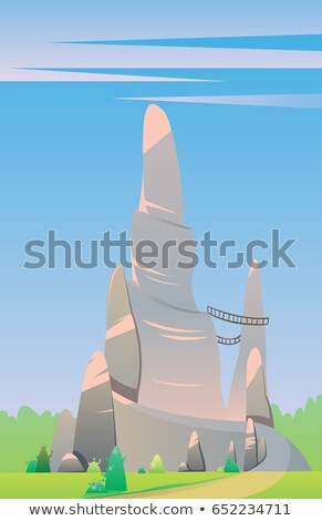 Digital vector, fairytale and fantasy big silver Stock photo © frimufilms