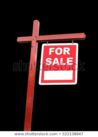 vásár · tulajdonos · ingatlan · otthon · nyitva · ház - stock fotó © backyardproductions